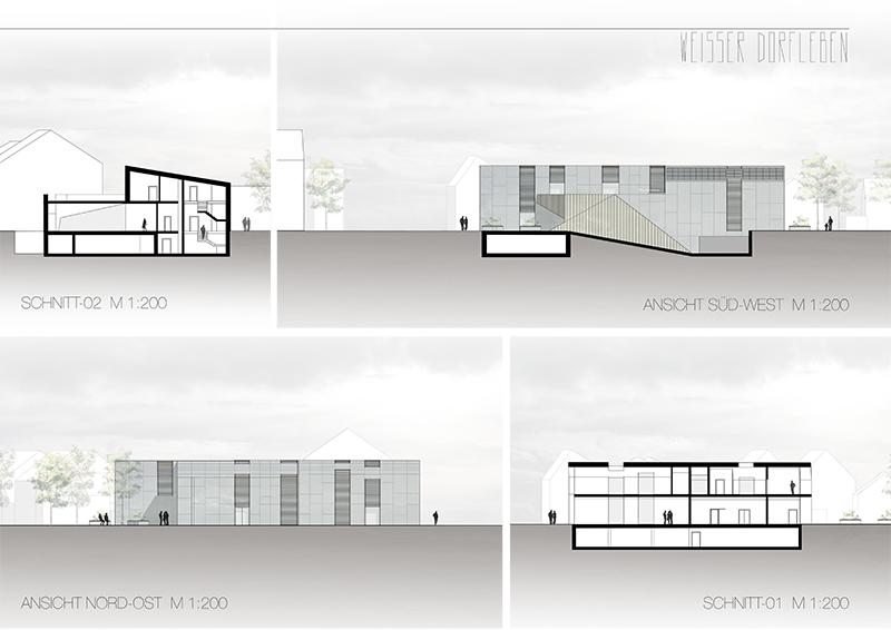 Entwurfspläne der Studierenden Nina Kuka