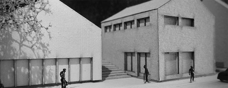 Entwurfsmodell der Studierenden Clara Brenner