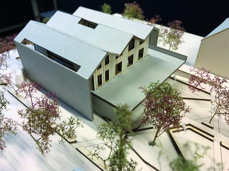 Entwurfsmodell des Studierenden Bojan Cröpelin
