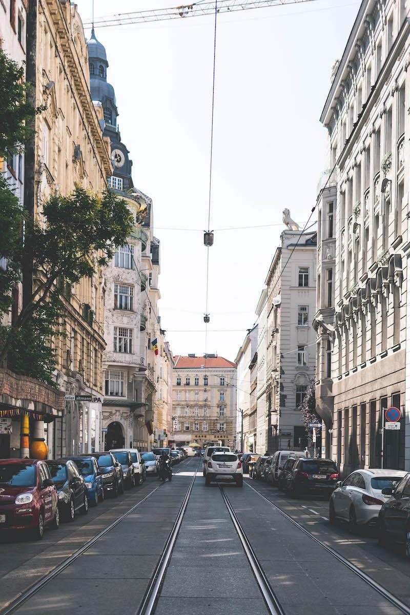 Straßenflucht Wien