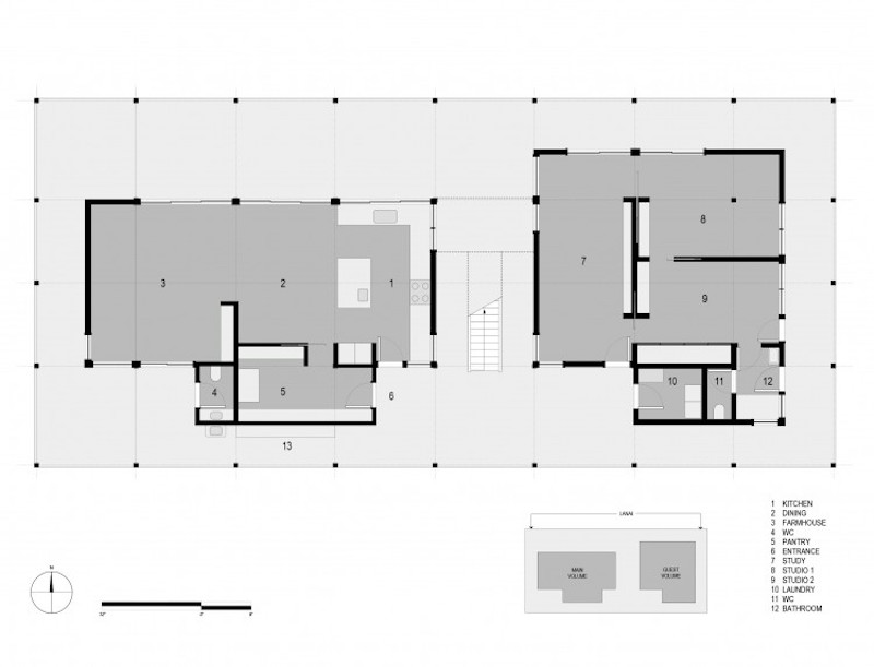 Baldwin House - Grundriss