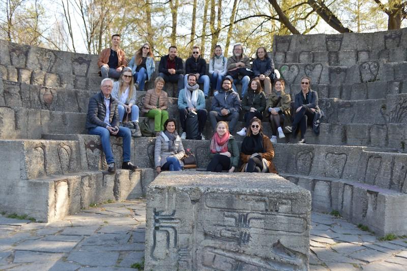 Teilnehmer der Exkursion
